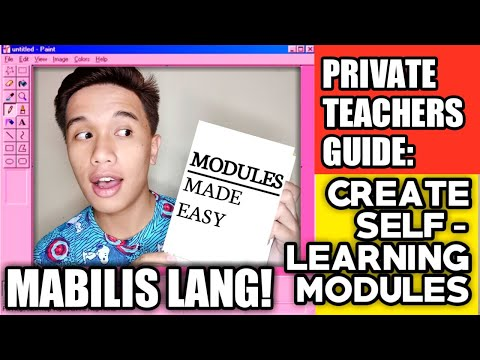 Creating Self Learning Modules For Private School Teachers In 3 STEPS