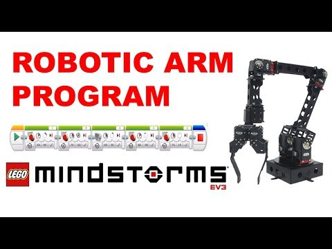Lego mindstorms education ev3 robot arm for Ev3 medium motor arm