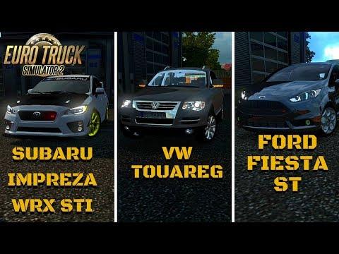 SUBARU IMPREZA WRX STI | VW TOUAREG | FORD FIESTA ST - ETS 2 Mods #13