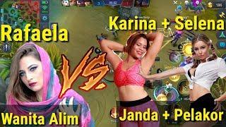 Download Video Perjuangan RAFAELA dizolimi KARINA JANDA & SELENA PELAKOR , lucu bikin NGAKAK!!!! MP3 3GP MP4