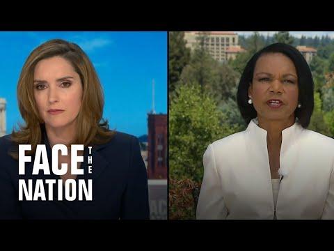 Face The Nation: Condoleezza Rice, Dr. Scott Gottlieb