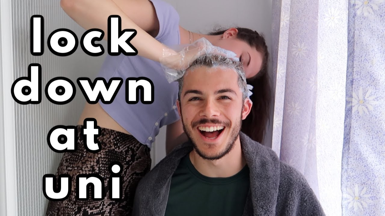 lockdown at uni: hair-dyeing, life-drawing, tie-dye, and diy cocktails