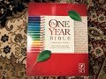 NLT One Year Reflections Bible Review