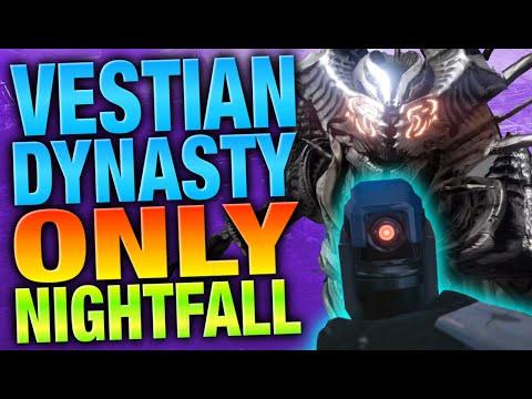 Vestian Dynasty Only Nightfall - Destiny Funny Videos