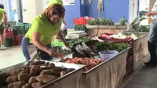 Feria Orgánica del trueque en Zapote ofrece frutas y verduras sin ningún químico