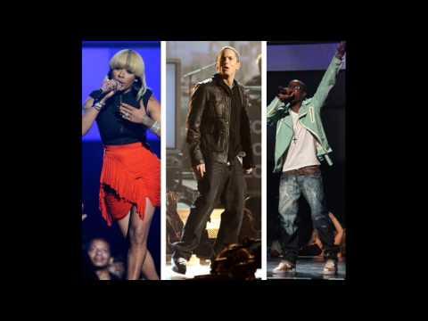 Eminem B.o.B ft Keyshia cole - Airplanes part II (Not afraid in BET awards 2010 performance)