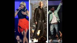 Eminem B.o.B ft Keyshia cole - Airplanes part II (Not afraid in BET awards 2010 performance)