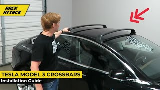 How To Install the Tesla Model 3 Roof Rack Crossbars