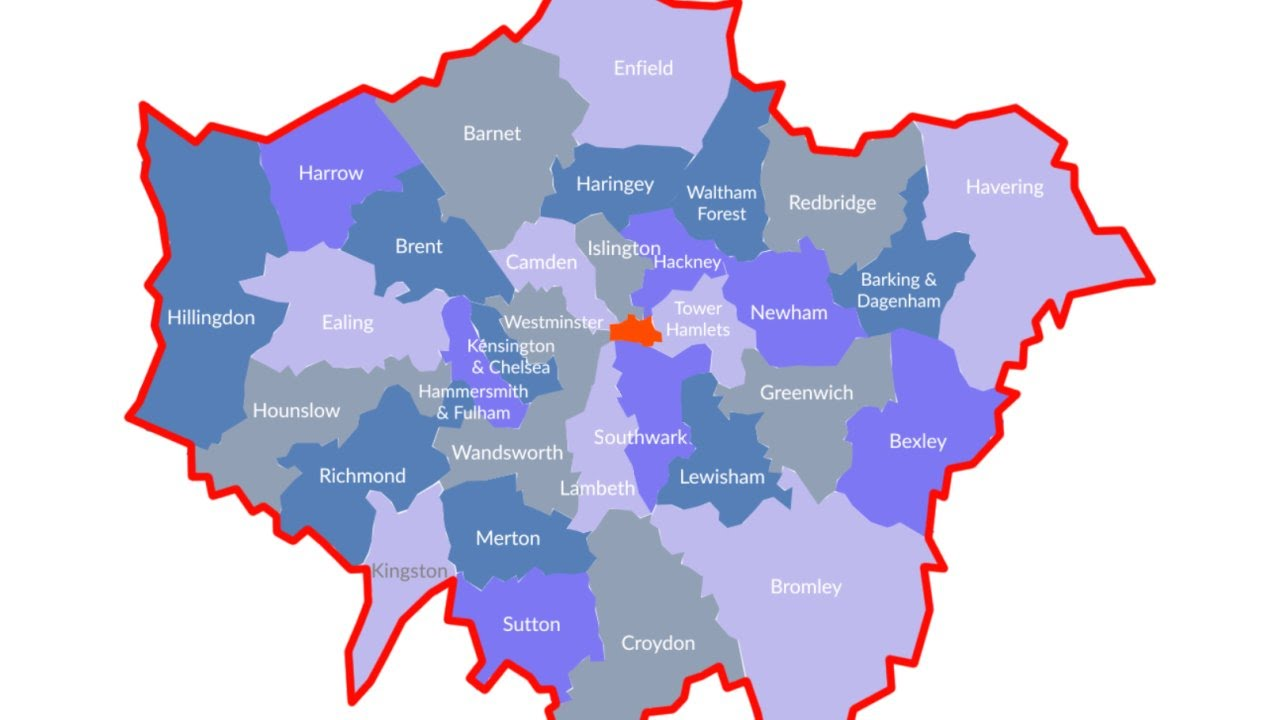 London Map Live.Do You Live In London