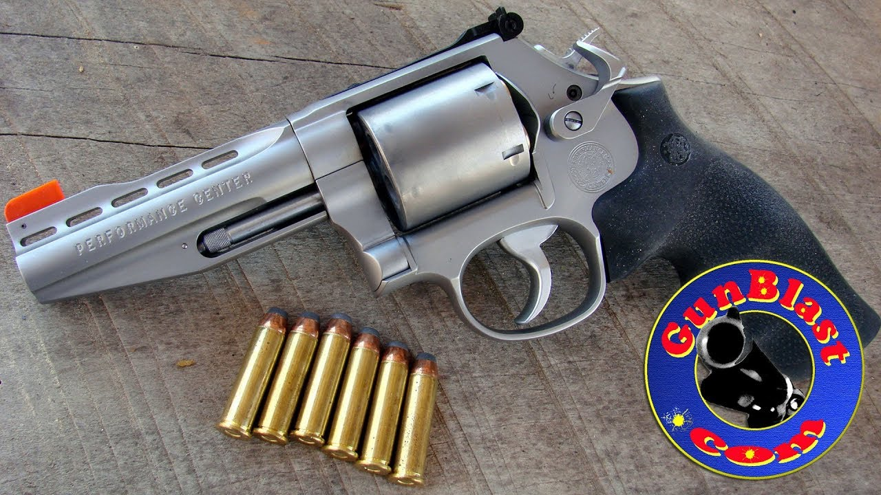 Shooting The Smith Wesson Performance CenterR Model 686 357 38 Revolver