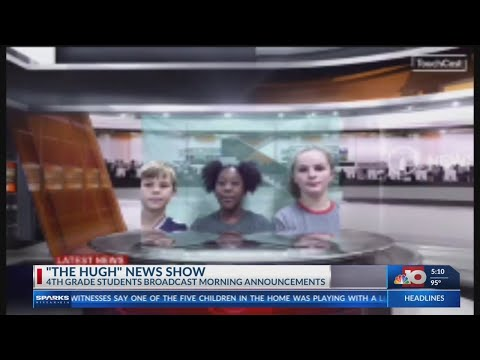 Student broadcast makes a comeback at Hugh Goodwin Elementary School