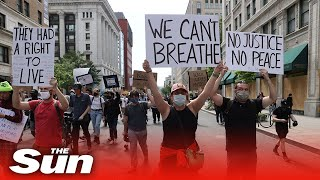 LIVE: Protests against police violence continue in Washington, DC