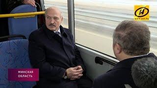 Александр Лукашенко принял участие в открытии МКАД-2