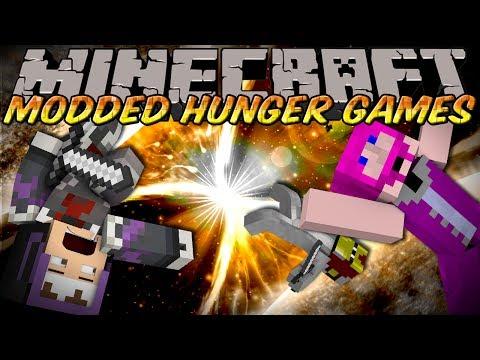 Minecraft MODDED HUNGER GAMES : ANTI GRAVITY MOD!