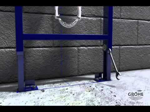 Grohe rapid sl installatievideo een inbouwtoilet installatie van