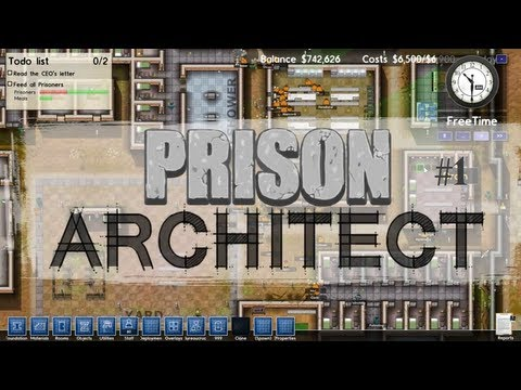 Prison Architect - Flash Mob - Ep.1