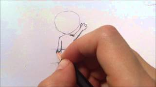 How to draw a chibi body and proportions!