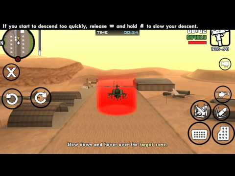 gta san andreas android walkthrough missions #69 learning to fly