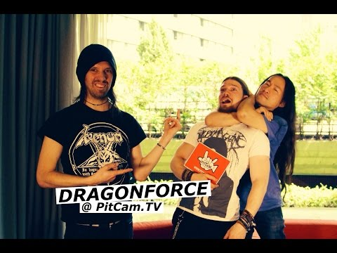 DRAGONFORCE Track by Track Interview with Herman Li & Sam Totman | www.pitcam.tv