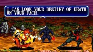 Samurai Shodown II - Kyoshiro (Arcade) Level 8