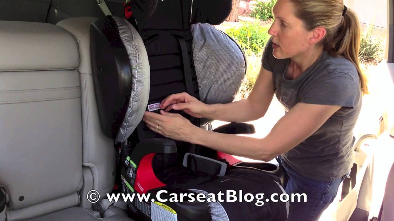 Britax Pinnacle 90 Review Switching To Booster Mode