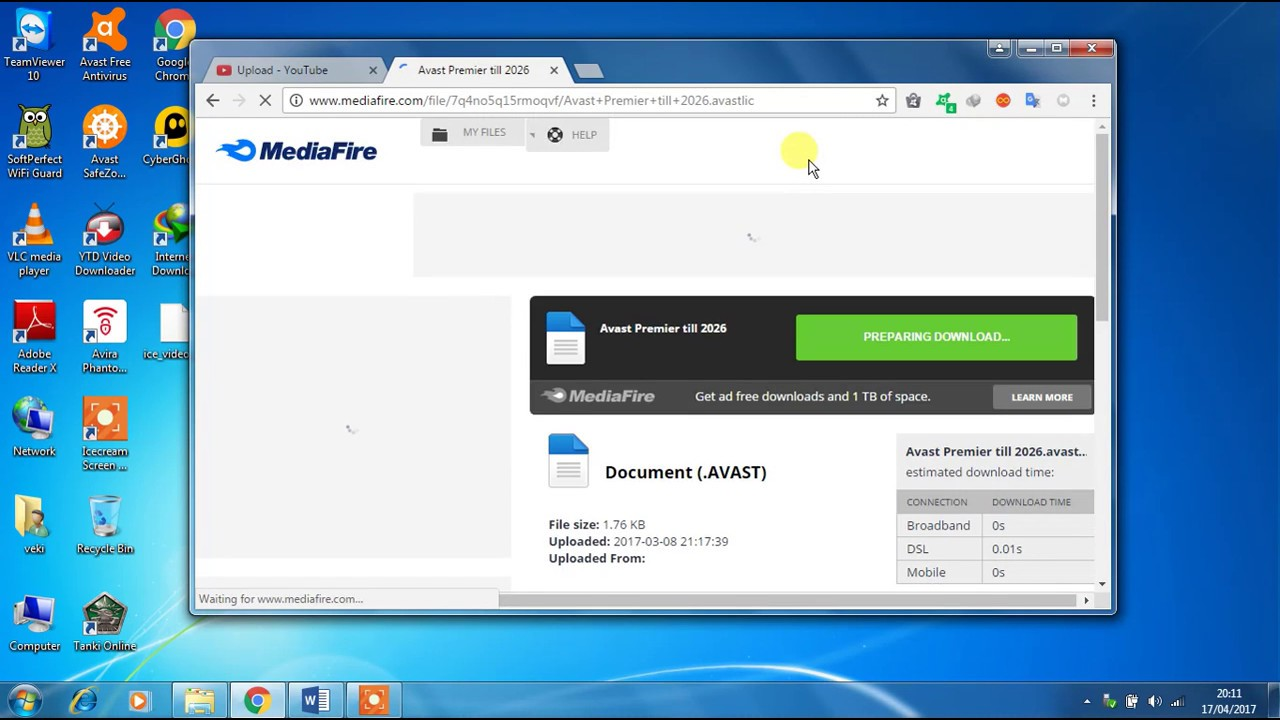 How to download avast premier license file till 2026 for free