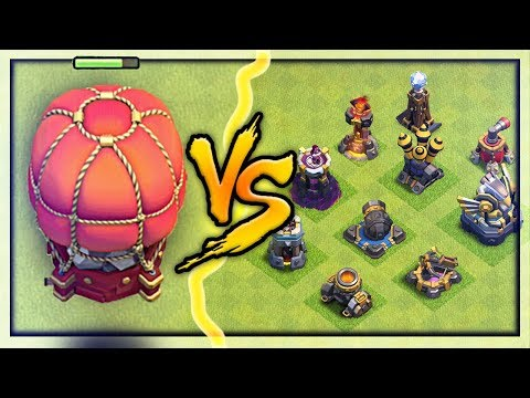 NEW Stone Slammer vs. ALL Defenses! Clash of Clans UPDATE Gameplay