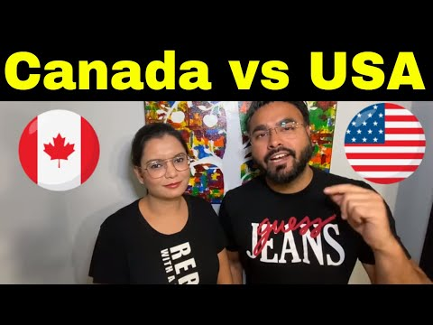 CANADA Vs USA | Which Is Better | Canada Couple Vlogs