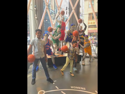 We Went To The NBA Store   Day 2 In New York