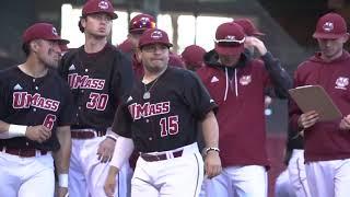 UMass Baseball Beanpot Final at Fenway vs. Harvard - Sights & Sounds