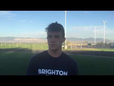 Brighton High School football 2017, Alex Zettler