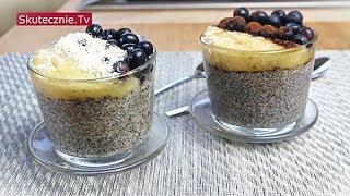 Jasny pudding chia z bananem i borówką (2 smaki) :: Skutecznie.Tv