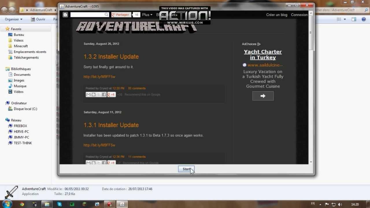 le nouveau launcher minecraft 1.6.2