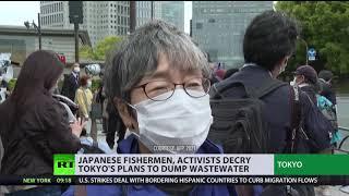 분노의 파도   일본의 이웃, 후쿠시마 물을 바다에 버릴 계획을 비난