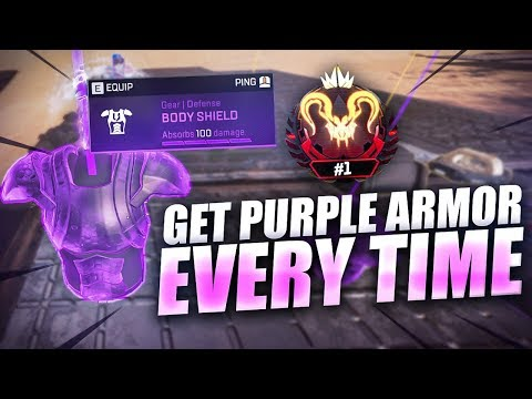 How To Get Purple Armor At The Start Of The Game EVERY TIME - Former Rank #1 Knoqd Tips