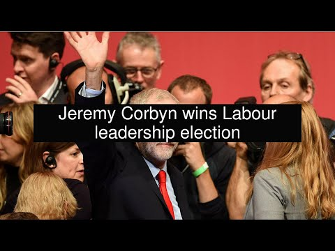 Jeremy Corbyn wins Labour leadership election