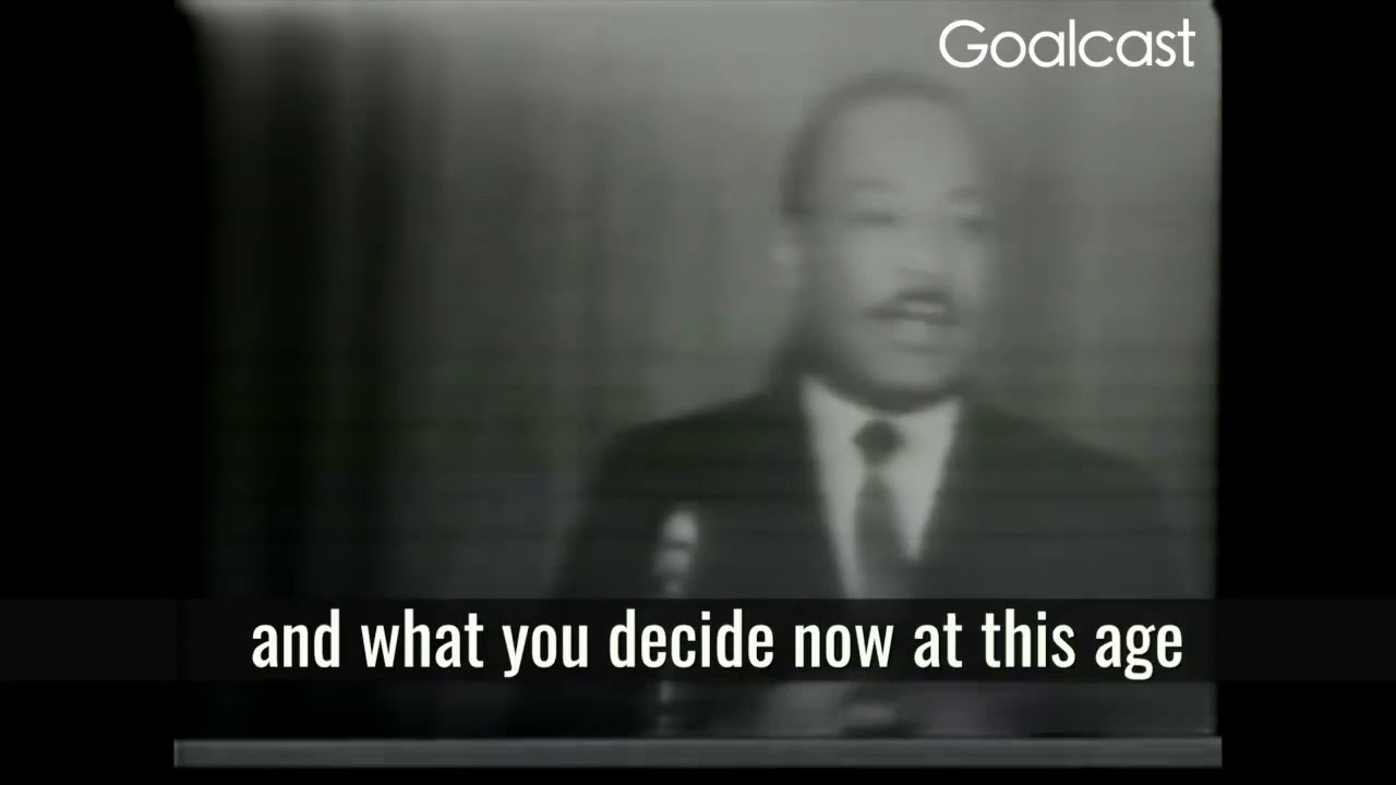 Brilliant Speech By Martin Luther King Jr Keep Moving Youtube