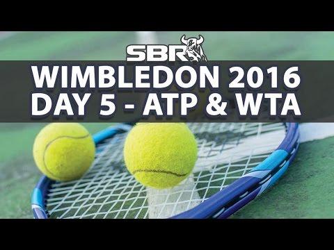 Wimbledon 2016 | Picks of the Day - Men's & Women's Singles | Day 5