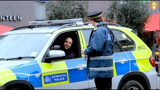 Police Vehicle vs Traffic Warden Social Experiment