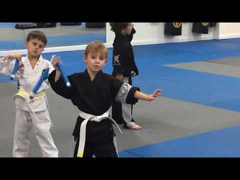 Victory Martial Arts 2017 Logan Xavier Drills 15