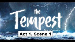 The Tempest Act1 Scene1 William Shakespeare Isc English Novel Paraphrase Krishna Agarwal Youtube Act 4 Scene 1