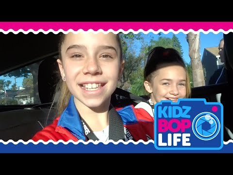KIDZ BOP Life: Vlog # 6  Olivia performs at a LA Clippers game