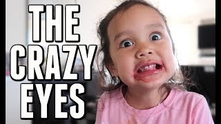 THE CRAZY EYES!!! -  ItsJudysLife Vlogs