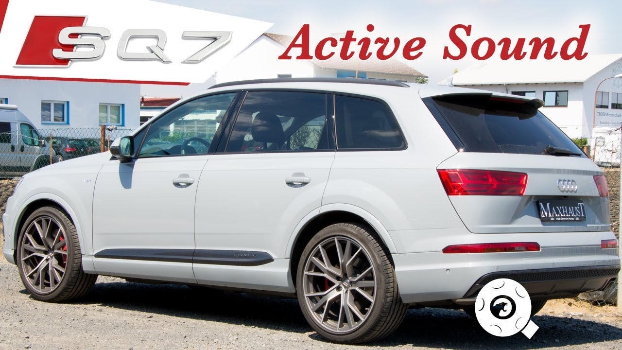 Audi SQ7 Maxhaust Soundbooster - Active Sound-System with Smartphone App