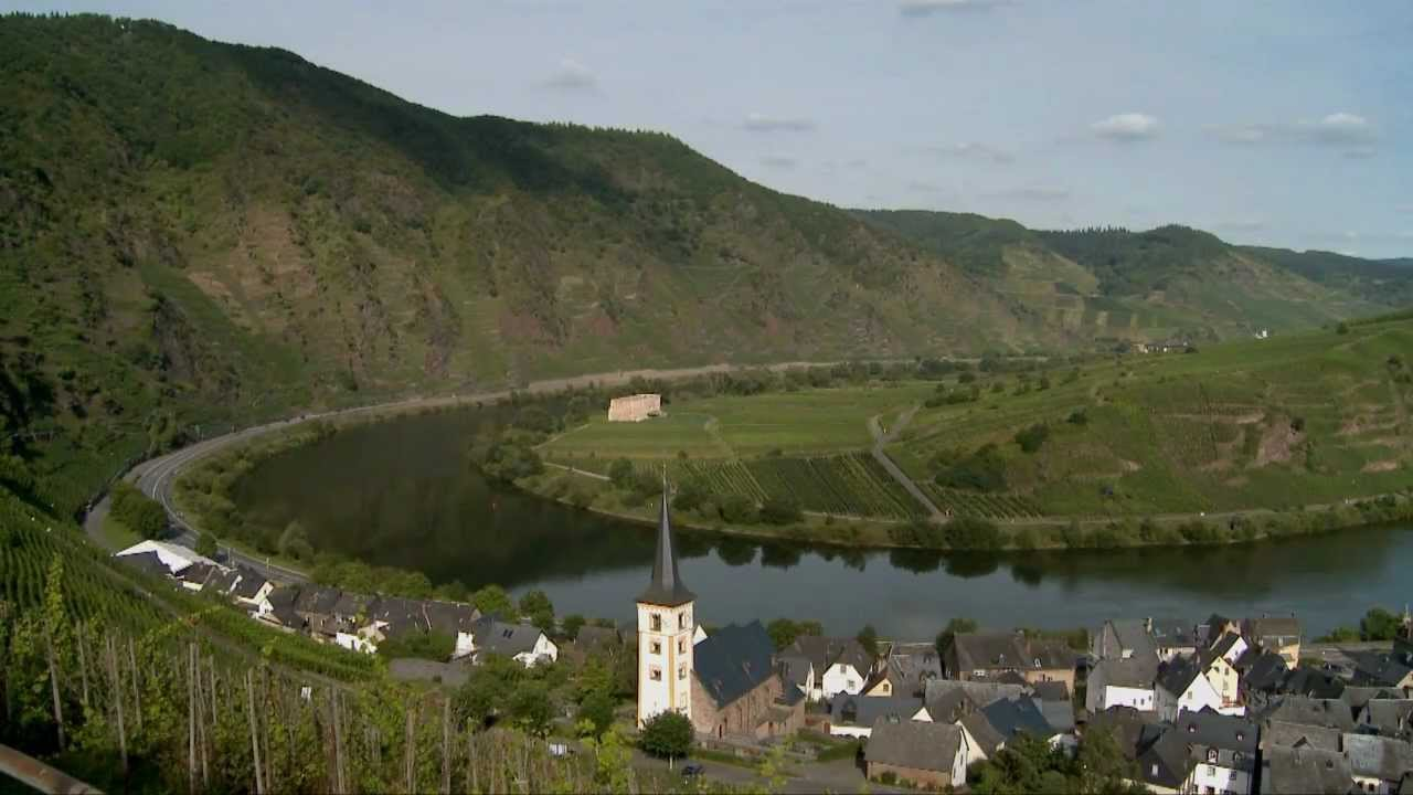 El vi edo calmont en el valle del mosela en alemania el - Cochem alemania ...