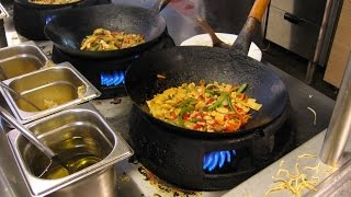 Chinese Wok Cooking Skill - Fried Rice