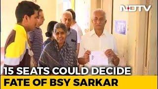 Voting Begins In 15 Assembly Constituencies In Karnataka Bypolls