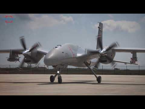 New ROKETSAN MAM-T Ammunition Were Successfully Fired from Akinci UAV