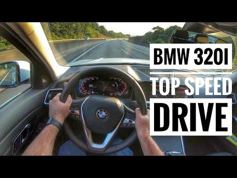 BMW 320i (2019) | POV Drive on German Autobahn - Top Speed Drive