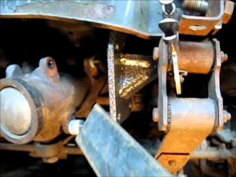 CJ7 Steering Box Mount and Front Frame Repair - YouTube